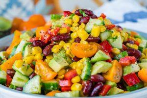 Quick-Sweet-Spicy-Summer-Salad-CleanFoodCrush-1024x683