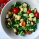 Broccoli-Rabe-Chickpea-Tomato-Cucumber-Salad
